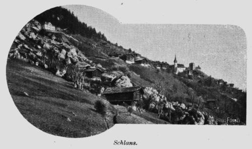 Ilustriertes Bündner Oberland herausgegeben vom Bündner-Oberänder-Verkehrs-Verein1903